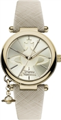 Vivienne Westwood Gold & Cream Orb Pop Watch