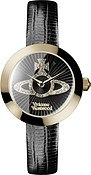 Vivienne Westwood Gold & Black Queensgate Watch