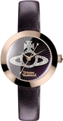 Vivienne Westwood Rose Gold & Purple Queensgate Watch