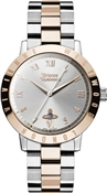 Vivienne Westwood Rose Gold & Silver Bloomsbury Watch