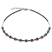 Coeur De Lion  Black Rainbow Necklace