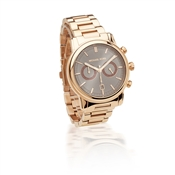 Michael Kors Landaulet Rose Gold Chronograph Watch