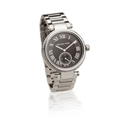 Michael Kors Skylar Black & Silver Watch