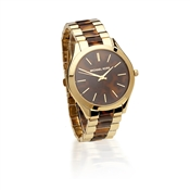Michael Kors Slim Runway Tortoiseshell Watch