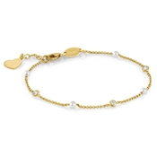 Nomination  Bella Gold Heart Bracelet