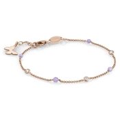 Nomination  Bella Rose Gold Butterfly Bracelet