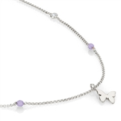 Nomination  Bella Silver Butterfly Necklace