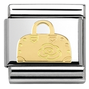Nomination  Gold Handbag Charm