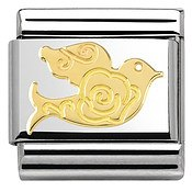 Nomination  Gold Dove Charm