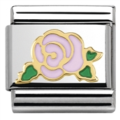 Nomination  Pink Rose Charm