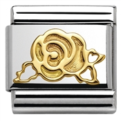 Nomination  Gold Rose Charm