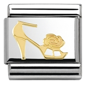 Nomination  Gold Heel Charm