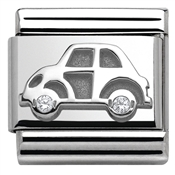Nomination  Silver Car Charm