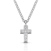Nomination  Gioie Silver Cross CZ Necklace
