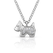Nomination  Gioie Silver Dog CZ Necklace