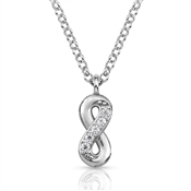 Nomination  Gioie Silver Infinity CZ Necklace