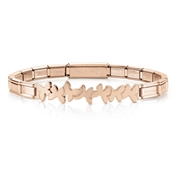 Nomination  Trendsetter Rose Gold Butterfly Bracelet