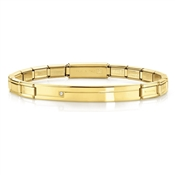Nomination  Trendsetter Gold Crystal Bracelet