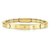 Nomination  Trendsetter Gold Screw Bracelet