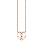Thomas Sabo Rose Gold Infinity Heart Necklace