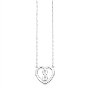 Thomas Sabo Silver Infinity Heart Necklace