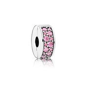 Pink Shining Elegance Spacer Clip by Pandora