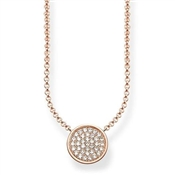 Thomas Sabo Rose Gold Sparkling Necklace