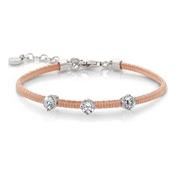 Nomination Flair Bracelet Rose Gold