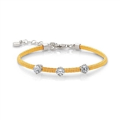 Nomination Yellow Flair Bracelet