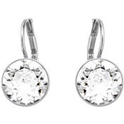 Swarovski Mini Bella Rhodium Earrings