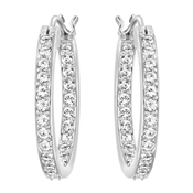 Swarovski Summerset Hoop Earrings