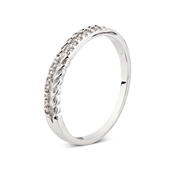 August Woods Outlet  Double Wave Band Ring
