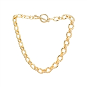 Dirty Ruby Outlet Gold T-Bar Chunky Chain