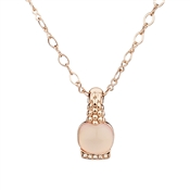 August Woods Blushed Rose Antique Necklace