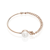 August Woods Rose Gold Pearl Bracelet