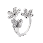 August Woods Outlet  Embellished Butterfly Ring