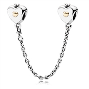 Pandora Heart & Crown Safety Chain