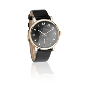 Marc by Marc Jacobs Baker Black Leather Watch