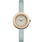 Vivienne Westwood Turquoise & Rose Gold Edge Watch