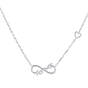 Argento Infinite Romance Forever Necklace