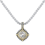 August Woods High Society Crystal Necklace