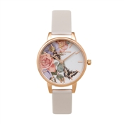 Olivia Burton Enchanted Garden Floral Blush Watch