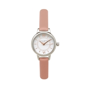 Olivia Burton Mini Wonderland Dusty Pink & Mixed Metal Watch