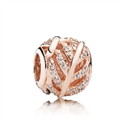 PANDORA Rose Feather Charm