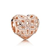 PANDORA Rose Love & Appreciation Charm