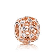 PANDORA Rose In the Spotlight Openwork Charm