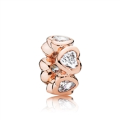 PANDORA Rose Heart Spacer