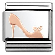 Nomination Rose Gold Heel Shoe Charm