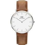 Daniel Wellington Classic 36mm Silver Durham Watch