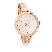 Marc by Marc Jacobs Sally Rose Dial Rose Gold Watch